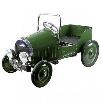 Samochód zielony z pedałami...