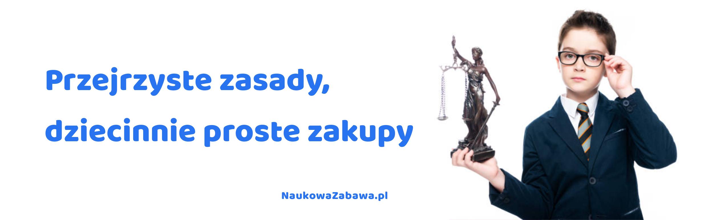 Regulamin sklepu naukowazabawa.pl