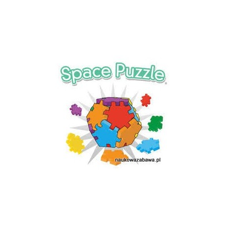 SPACE PUZZLE - KOSTKI HAPPY