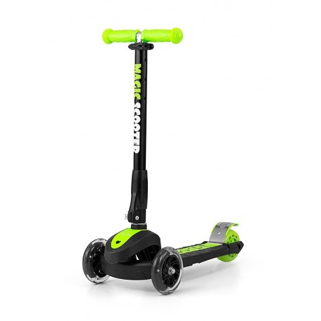 HULAJNOGA TRÓJKOŁOWA SCOOTER MAGIC GREEN